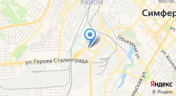 Аква Стар Симферополь на карте