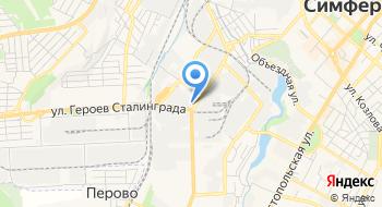 Симферопольский моторный завод на карте