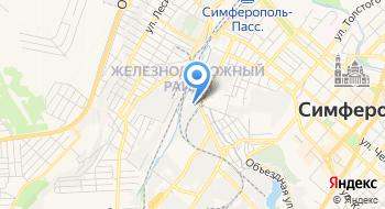 Симферопольский комбинат хлебопродуктов на карте