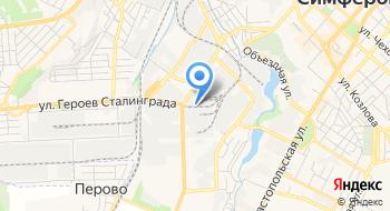Крым-Сейф на карте