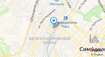Претория-Крым на карте