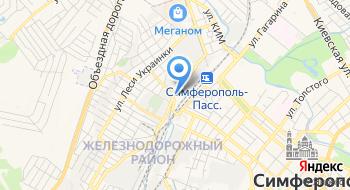 Центр пригородных перевозок ФГУП РК Крымская ж.д. на карте