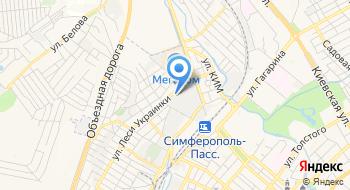 Оптово-розничный склад АкваКрым на карте