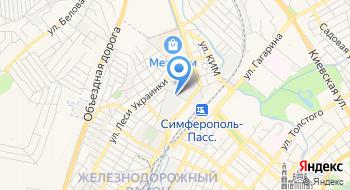 Крымвторцветмет на карте