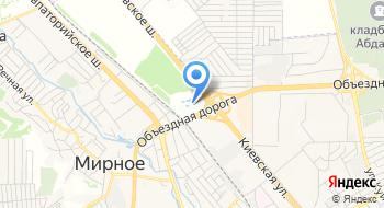 Отель Причал Симферополь на карте