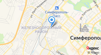 Симферопольский авторемонтный завод на карте