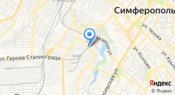 Пластик Крым на карте