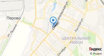 Симферопольская зеркальная фабрика на карте
