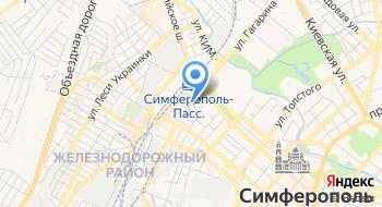 Служба доставки цветов и подарков Present-crimea на карте