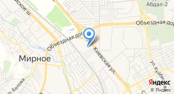 Управление ГИБДД МВД по Республике Крым на карте