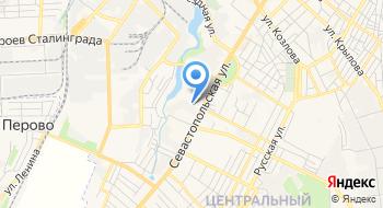 Симферопольская Кондитерская фабрика на карте