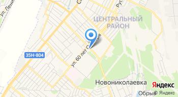 Трител Крым на карте