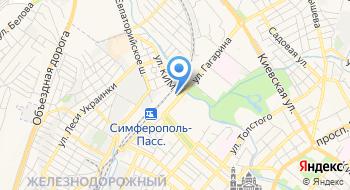Проектно-сметная группа Крымская железная дорога на карте