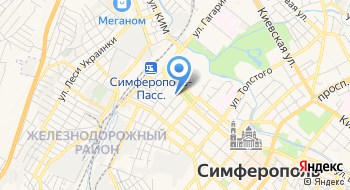 Федерация Киокушинкан карате Автономной республики Крым на карте