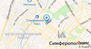 Следственный Изолятор № 1 Управления Федеральной Службы Исполнения Наказаний по Республике Крым и г. Севастополю на карте