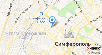 Крымская Железная Дорога на карте