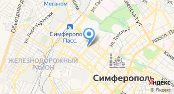 Лингвист Крым на карте