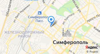 Тату студия Bright Side Симферополь на карте