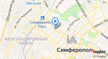 Крымская Роза на карте