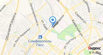 Союзко-Крым на карте