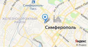 Такси Крыма на карте