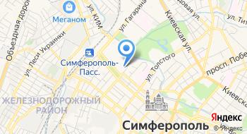Крымский филиал Фгбоуво Российский государственный университет правосудия на карте