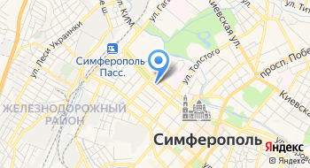 Крым Бизнес Интеграция на карте