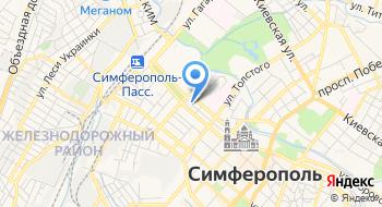 Отель Прага на карте