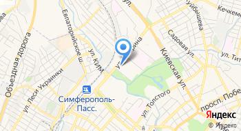 Теннисный центр Графит на карте