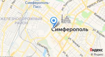 Крымтакси на карте