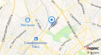 ГАПОУ РК Симферопольский торгово-экономический колледж на карте