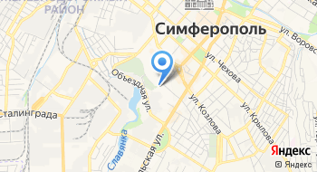 Пассажирские перевозки Crimea-Travel на карте