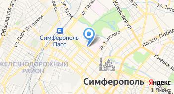 Арбитражный суд Республики Крым на карте