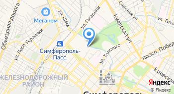 Отдел МВД России по Симферопольскому району на карте