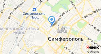 Строительная компания Симферопольская на карте