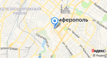 Автостекло Крым на карте