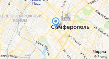 Крымский республиканский центр судебной экспертизы на карте