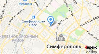 Уфнс по Республике Крым на карте