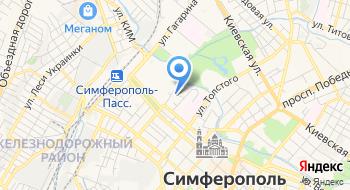 Крымское обособленное подразделение центр Охраны Труда на карте