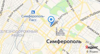 Крымские морепродукты на карте
