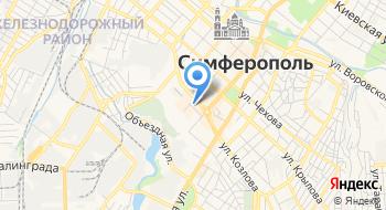 Меховые шапки Симферополь на карте