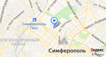 ГУП РК Крым-Фармация, офис на карте
