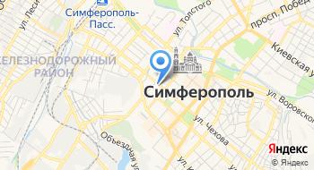 Крымский хостинг на карте