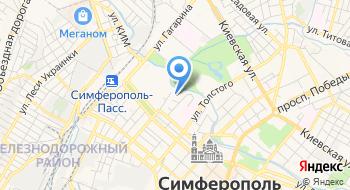 Верховный суд Республики Крым на карте