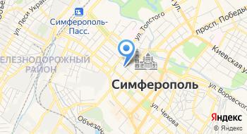 Крымский туроператор Рюкзак путешествий на карте