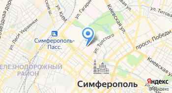 Управление ПФР в Симферопольском районе на карте