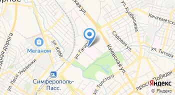 ГБУЗ РК Симферопольская клиническая больница скорой медицинской помощи № 6 на карте