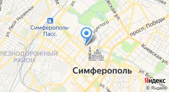 Витязь Крым на карте