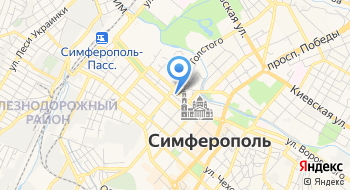 Эскулап Крым на карте