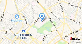 ГБУЗ РК Симферопольская городская детская клиническая больница на карте